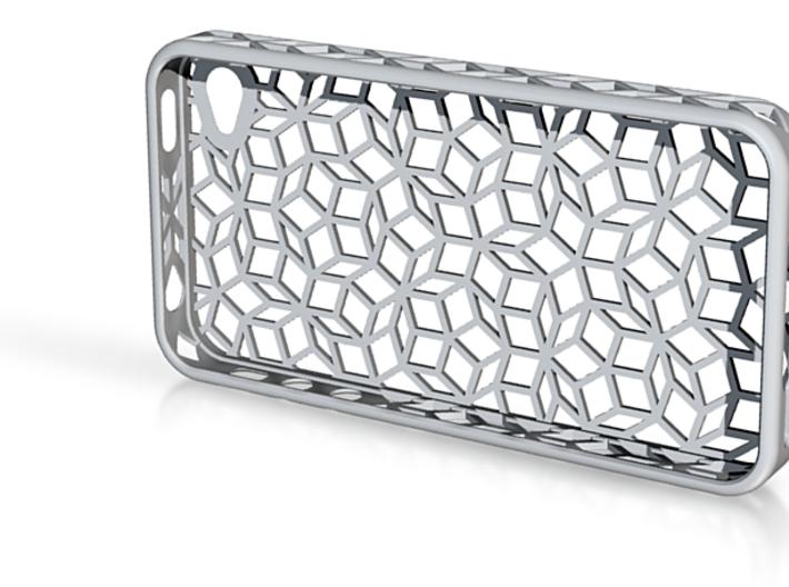 Weird tiles Iphone 4s case 3d printed