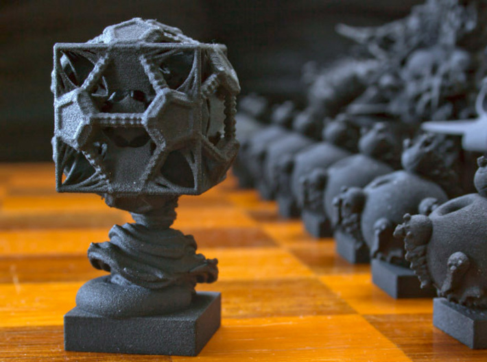 Surreal Chess Set - My Masterpieces - The Rook 3d printed