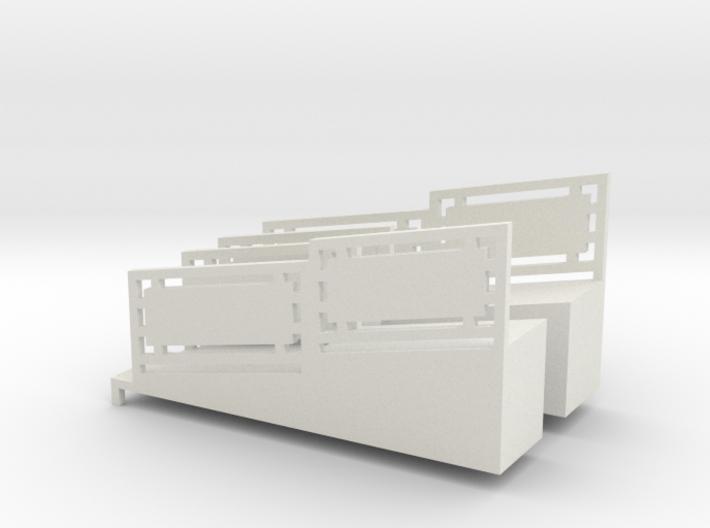 Aufgang Flash (links und rechts) 3d printed