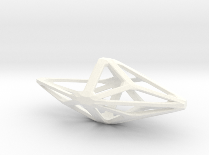 Polyhedral Hanging Planter 3d printed
