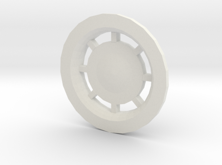 3d Rear Engine Nozzles Plate 3d printed