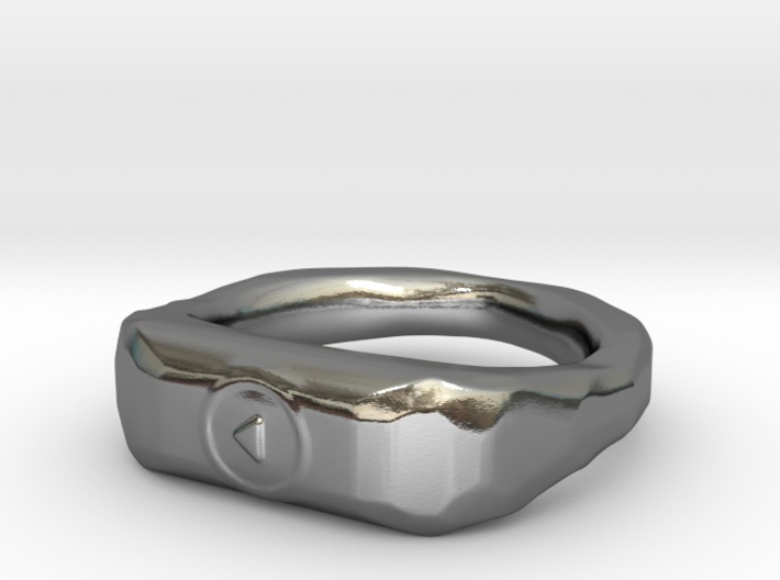"""Play"" ring 1-st edition, ""Player"" jewelry collect 3d printed"