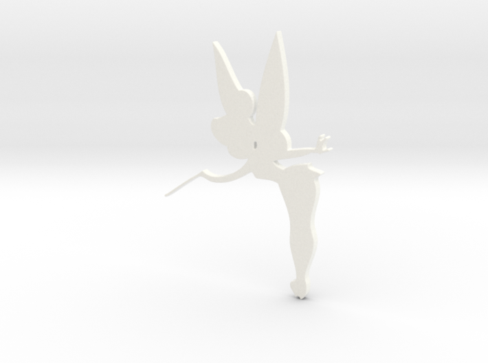 Tinkerbell Silhouette 3d printed