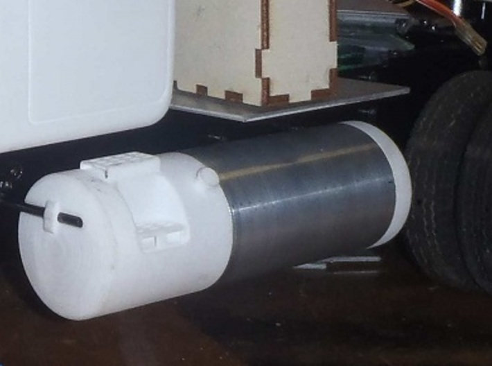 Round-Fuel-Tank-LH-55-gallon 3d printed Very nice, extra, extra long 55 gallon Fuel tank