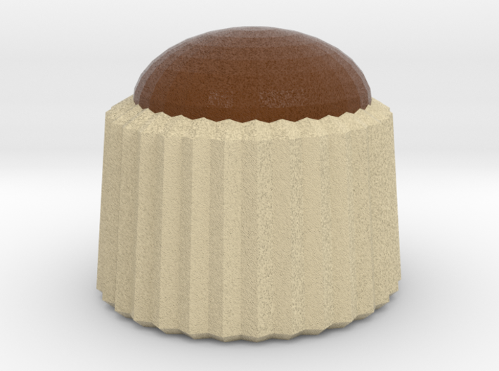 Chocolate Pudding 3d printed