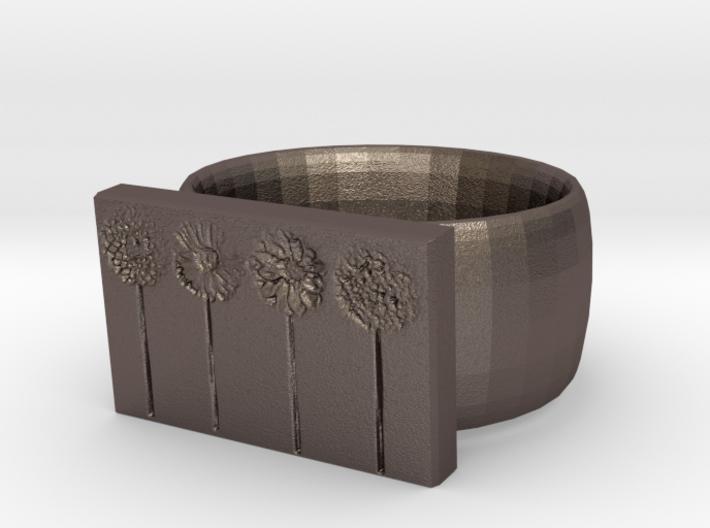 Flower Ring Version 10 3d printed