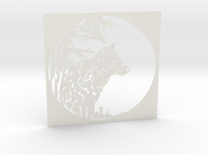 Grey Wolf 3d printed