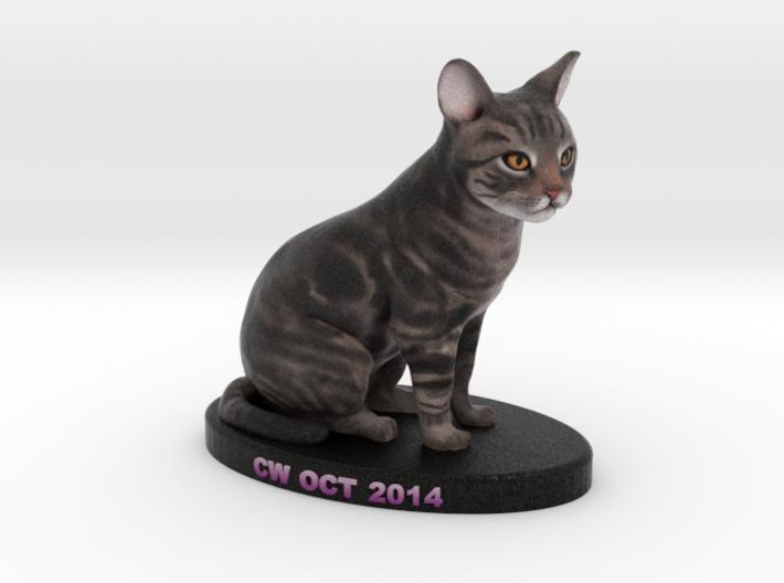 Custom Cat Figurine - CW 3d printed