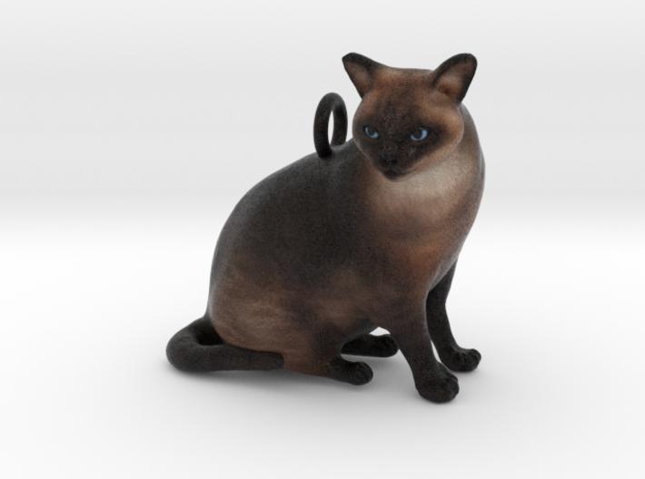 Custom Cat Necklace - Jack 3d printed