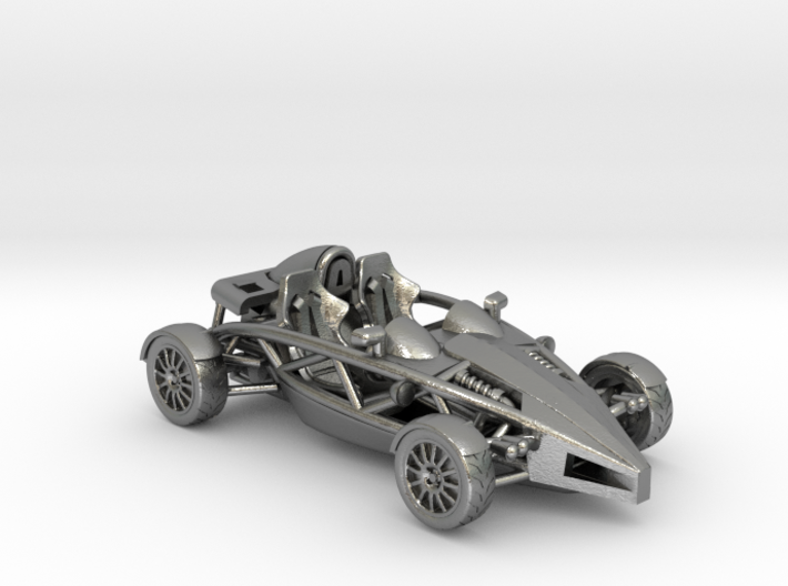 "Atom HO scale model w/o wings 1.6"" RHD 3d printed"