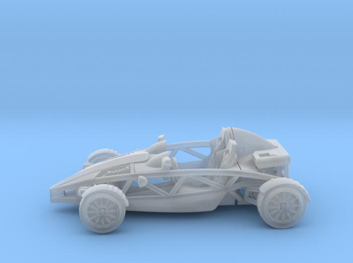 "Atom HO scale model w/o wings 1.6"" LHD 3d printed"