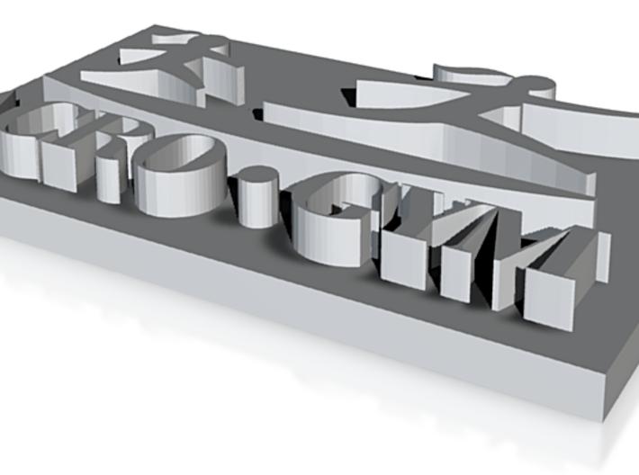 ACROGYM LOGO 3D 3d printed