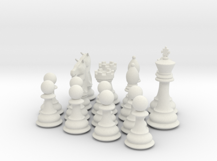 Chess Pieces 3d printed