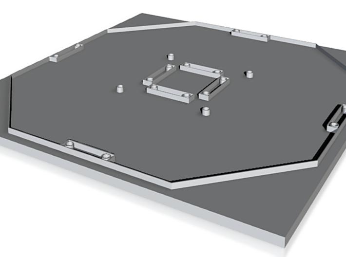 Quadricopter main frame 3d printed