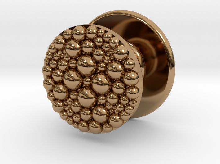 Granulated Button for Tux Shirts 3d printed