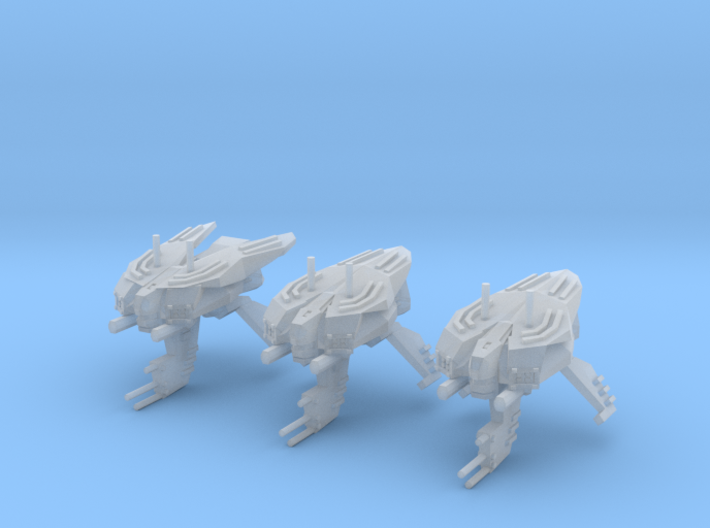 "Somtaaw ""Hive"" Advanced Drone Frigates (3) 3d printed"