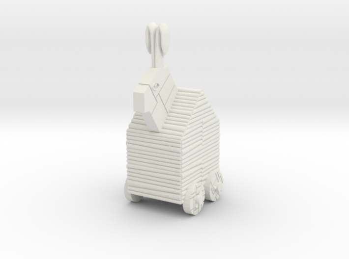15mm-Scale Trojan Rabbit 3d printed
