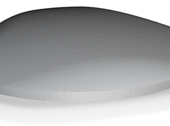 Boy surface, diam 6cm, wall 1.4mm, piece 2/2 3d printed