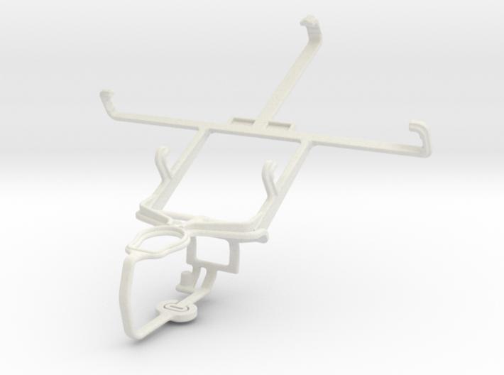 Controller mount for PS3 & LG Vu 3 3d printed