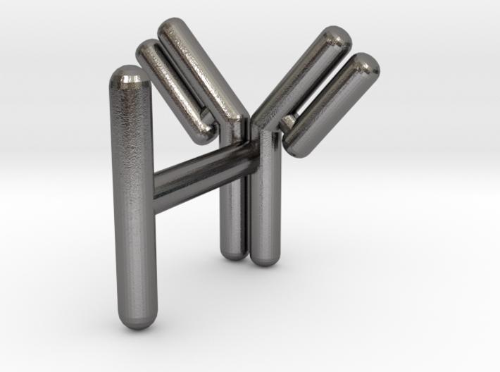 Antibody cufflink 3d printed