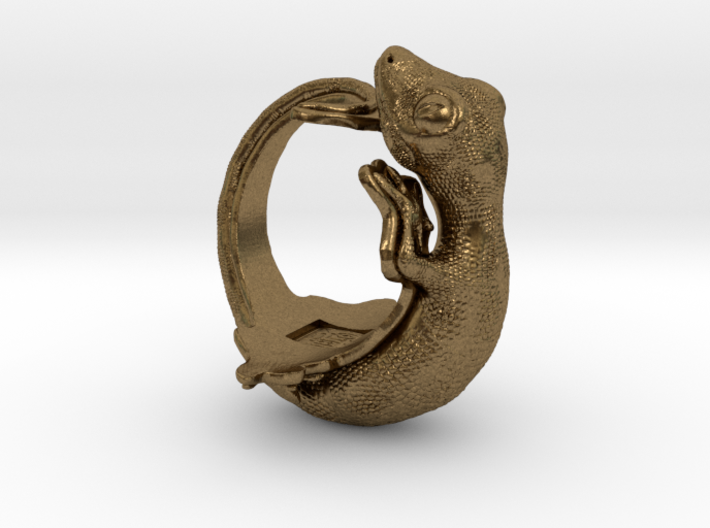 Gecko Size13 3d printed