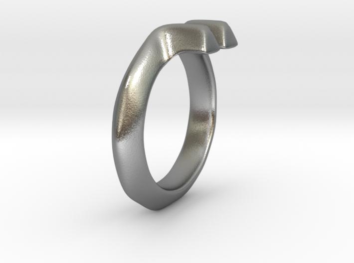 Diverto Ring 3d printed