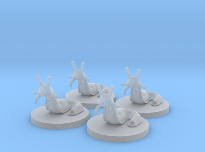 Slugs (4 pcs) 3d printed