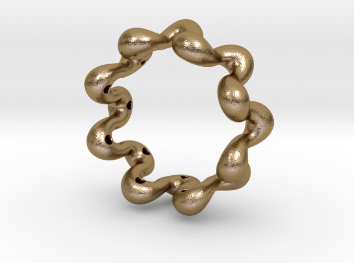 Wavy bracelet 70 3d printed