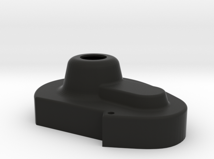 Flipped RC10 Stealth Gear Cover 3d printed