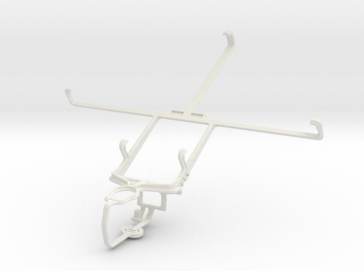 Controller mount for PS3 & Orange Tahiti 3d printed