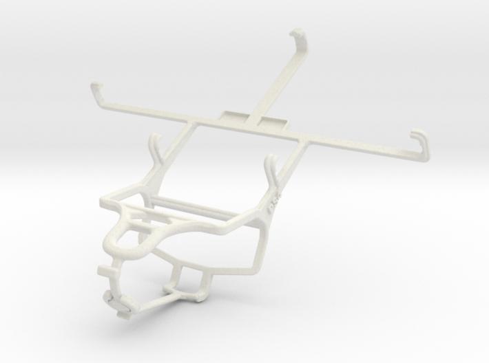 Controller mount for PS4 & Pantech Vega No 6 3d printed