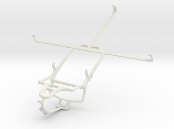 Controller mount for PS4 & Prestigio MultiPad 4 Ul 3d printed