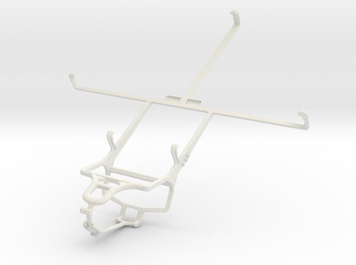 Controller mount for PS4 & Prestigio MultiPad 8.0 3d printed
