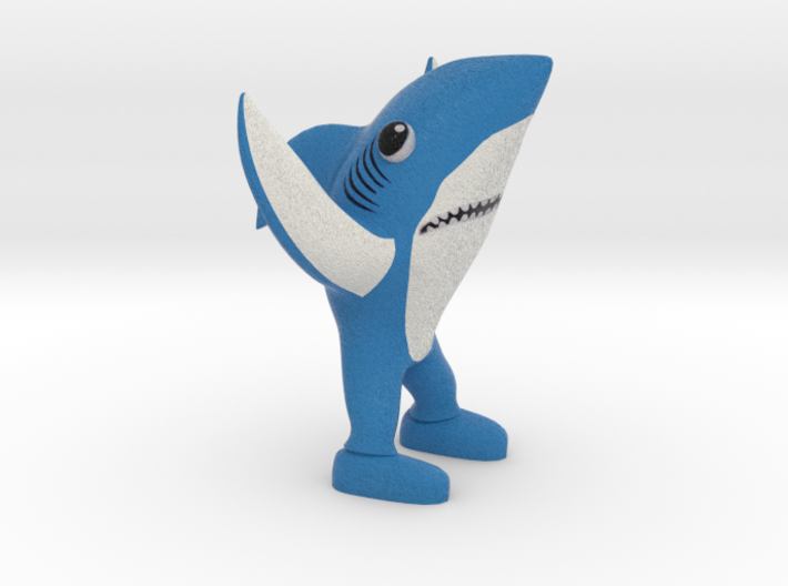 Left Shark 3d printed
