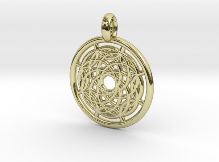 Hermippe pendant 3d printed