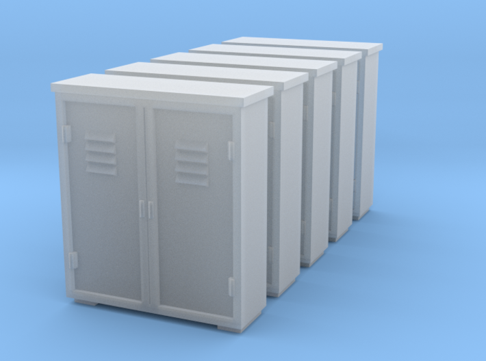 Relaybox - Sscale (1:64) 3d printed