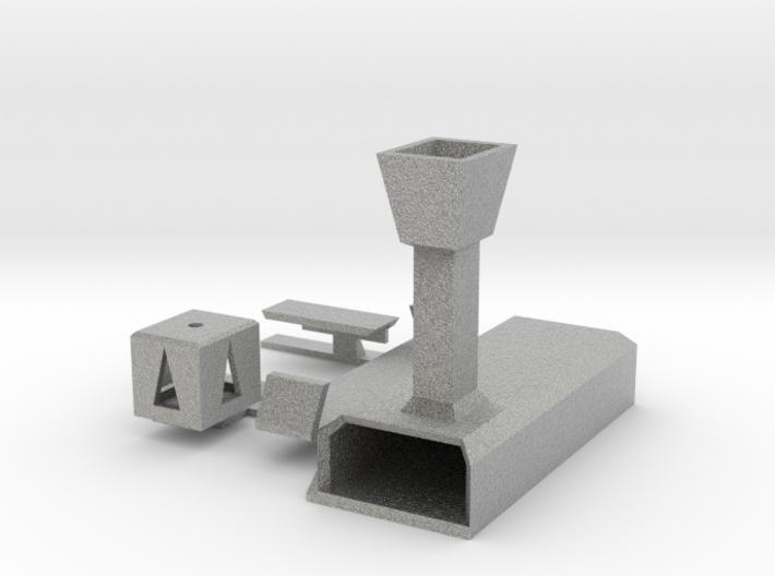 Märklin M-Gleis Entkuppler digital angesteuert 3d printed