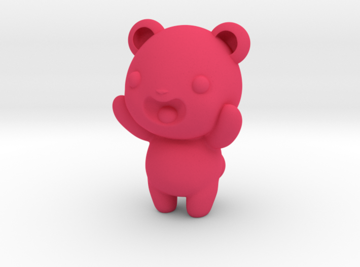 "3"" Gummy bear 3d printed"