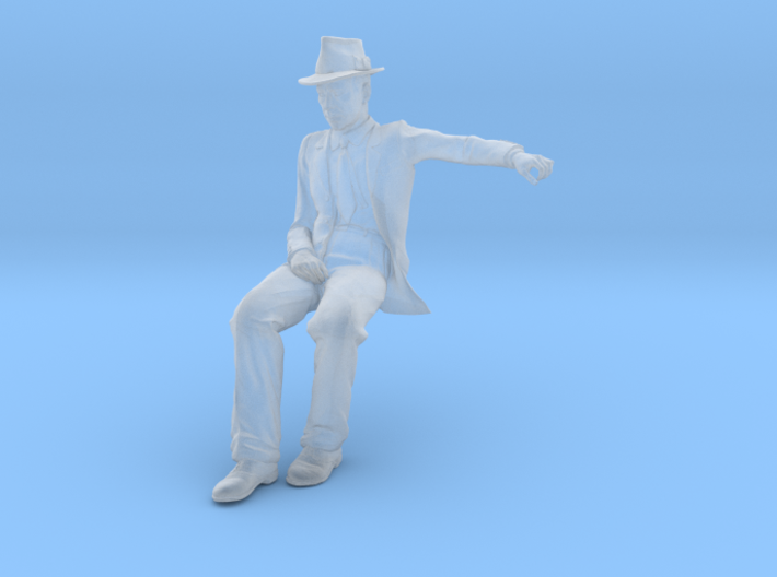 1:32 Scale Seated Figure 3d printed