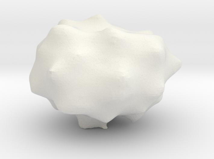 Ecchinocyte, 1/2 Size 3d printed