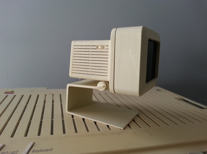 Apple Monitor IIc - 1:4 Scale 3d printed