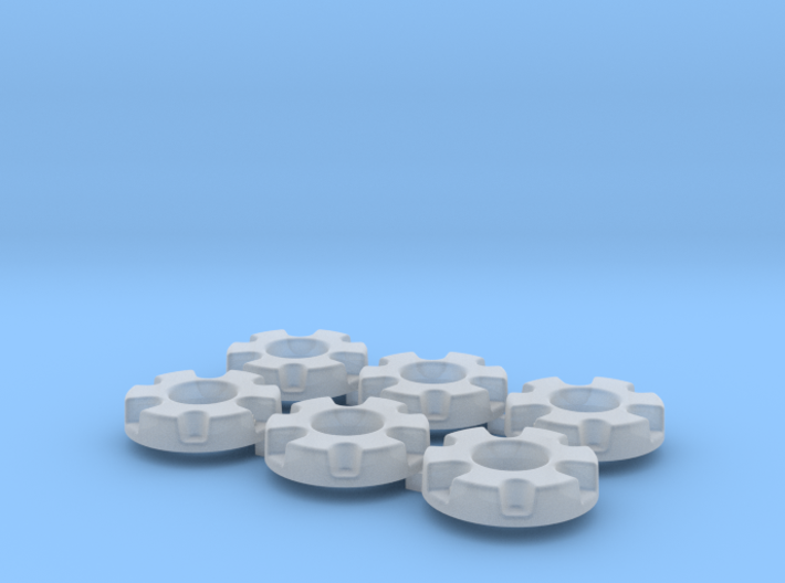 1/64 Wheel Weights Inner (6 Pieces) 3d printed