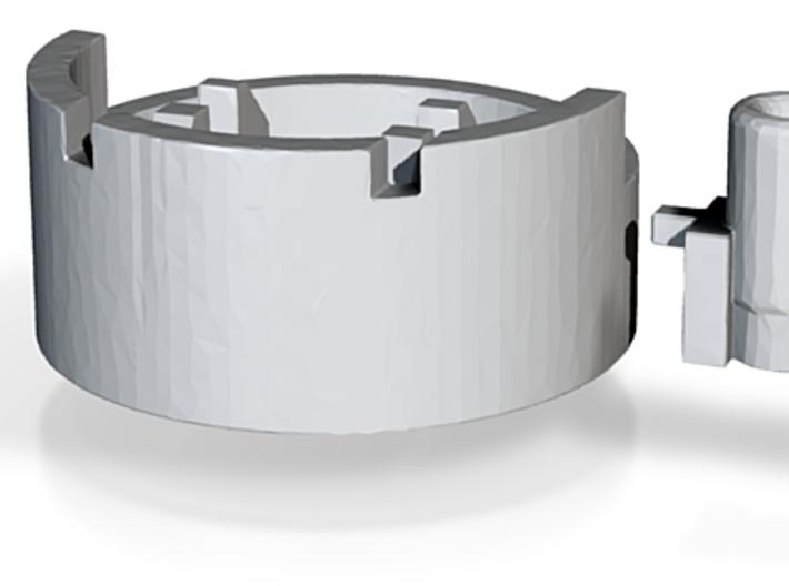 Heavy Mortar #1 (n-scale) 3d printed