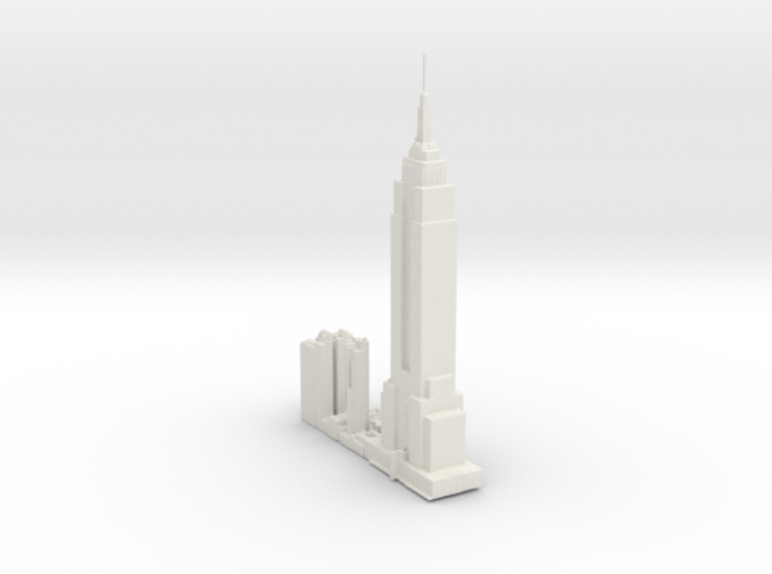 NewYork-Empire State Building-original 3d printed