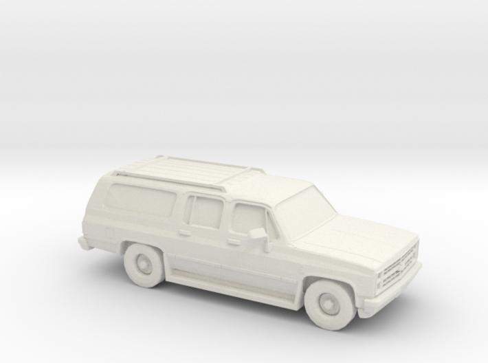 1/87 1985-88 Chevrolet Suburban 3d printed