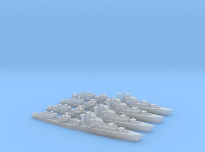 Barfleur class 1/2400 x4 3d printed