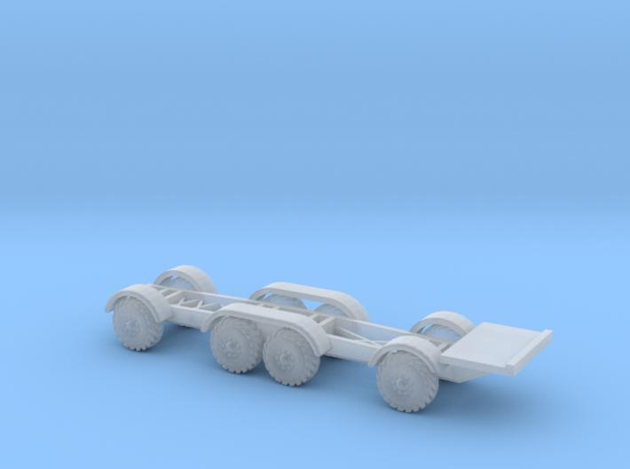Zil 135 K Fahrgestell Komplett 1:220 3d printed