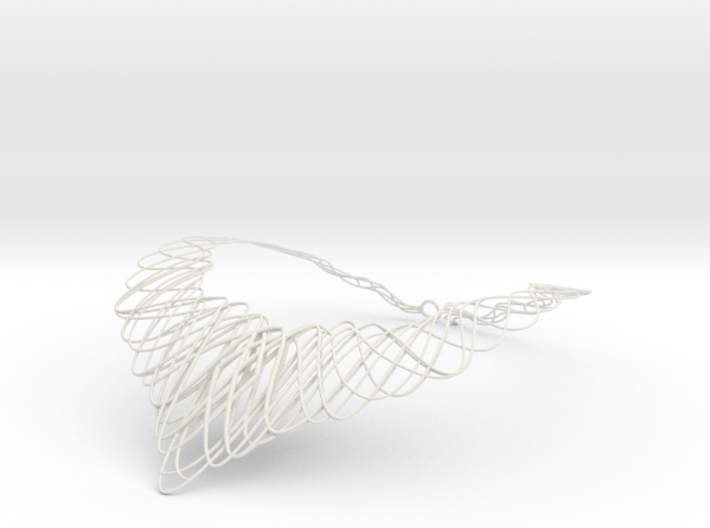 Guilloche Necklace 3d printed