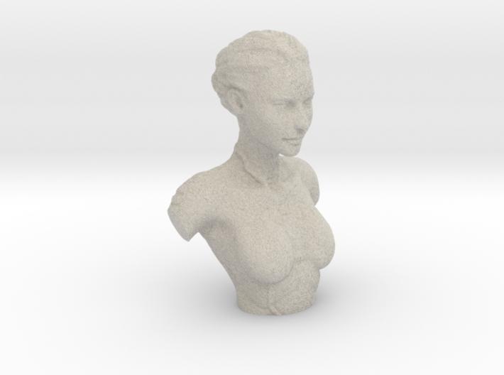 Kasumi Bust 3d printed