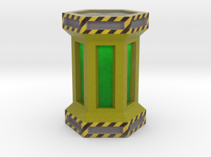 Game Piece, Power Grid, Uranium Canister Type 1 3d printed